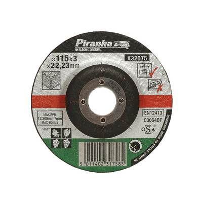 Black & Decker X32075 Proline Stone Cut Off Disc 115mm