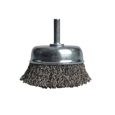 Black & Decker X36040 Wire Cup Brush 75mm x 6mm Shank