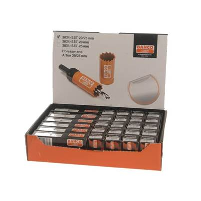 Bahco Counter Top Holesaw Display Set of 32