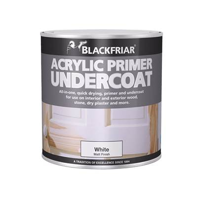 Blackfriar Quick Drying Acrylic Primer Undercoat