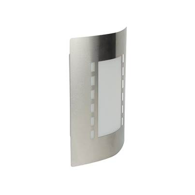 Byron Stainless Steel Outdoor Wall Light