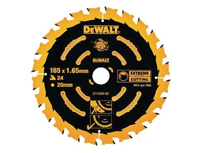 Image of Circular Saw Blade 165 x 20mm x 24T Corded Extreme Framing