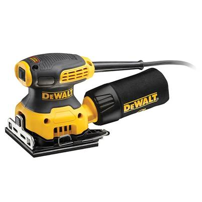 DEWALT DWE6411 1/4 Sheet Palm Sander 230 Watt
