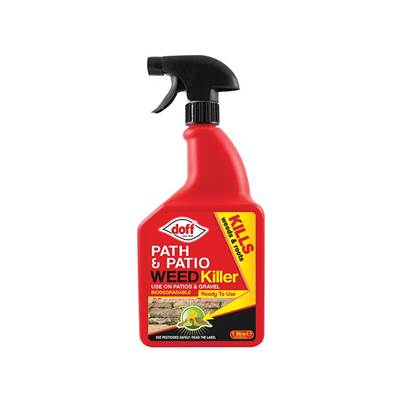 DOFF Path & Patio Weed Killer RTU 1 Litre