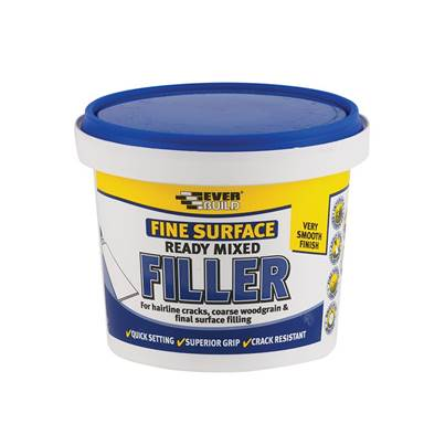 Everbuild Fine Surface Filler Ready Mix 600g