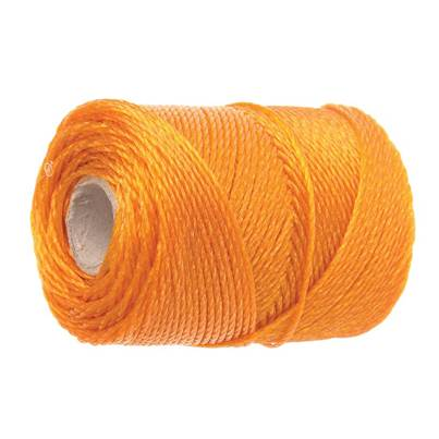 Faithfull 3250 Heavy-Duty Polyethylene Brick Line 250m (820ft) Orange