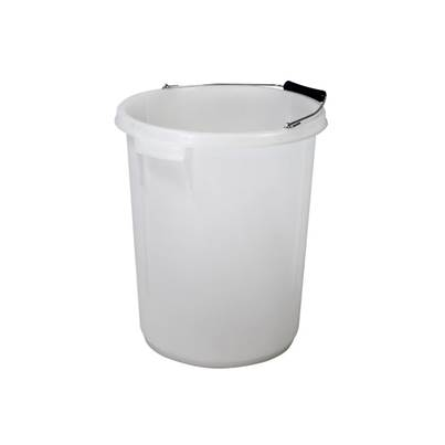 Faithfull 5 Gallon 25 litre Bucket - White