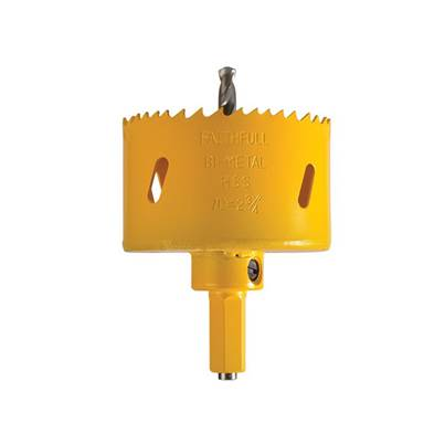 Faithfull Soffit Cutter Holesaw 70mm One Piece