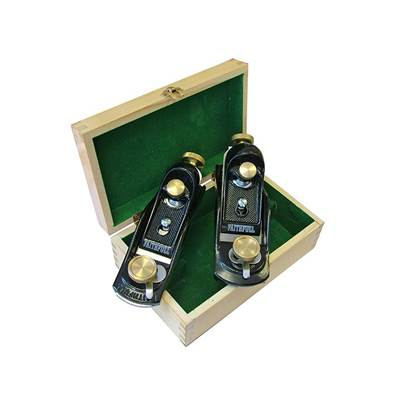 Faithfull No.9.1/2 & No.60.1/2 Block Planes in Wooden Box