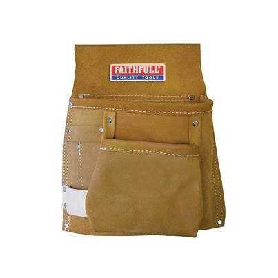 Faithfull Single Tool & Nail Pouch