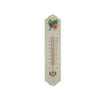 Faithfull Thermometer Wall Enamel Metal 300mm