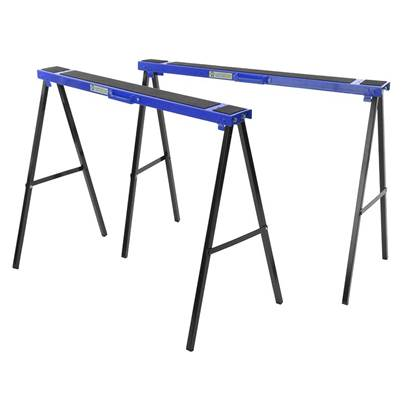Faithfull Steel Trestles (Twin Pack)