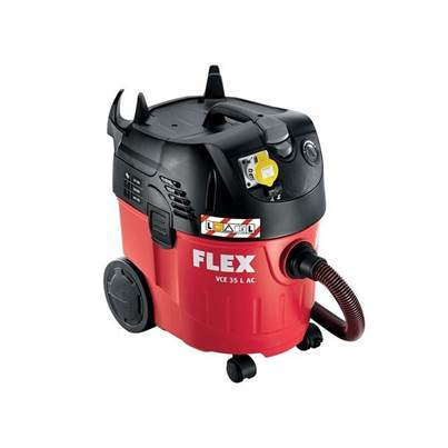 Flex Power Tools VCE35L Vacuum With Power Take Off 1250 Watt 110 Volt