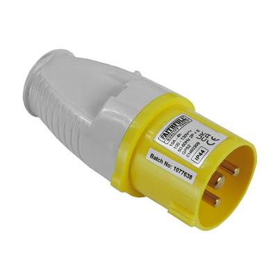 Faithfull Power Plus 110 Volt Replacement Yellow Plugs