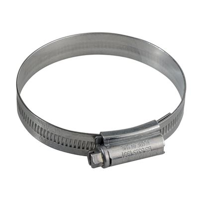 000 Zinc Protected Hose Clip 9.5 - 12mm (3/8 - 1/2in)