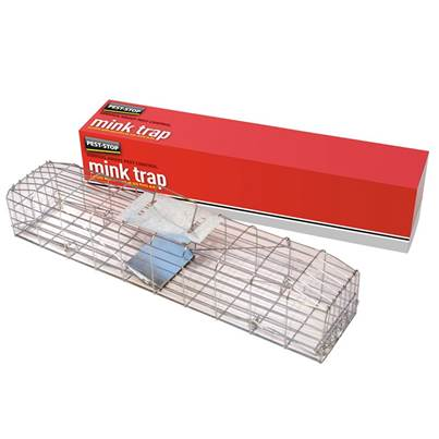 Pest-Stop Systems Mink Cage Trap 30in