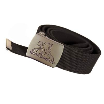 Roughneck Clothing Black Heavy-Duty Woven Belt