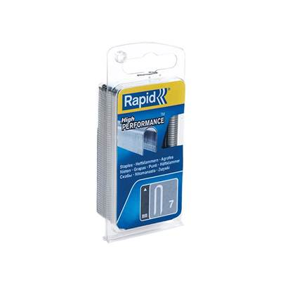 Rapid 7/12mm Cable Staples Narrow Box 960