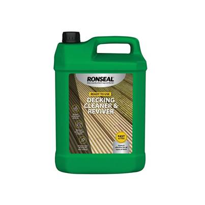 Ronseal Decking Cleaner & Reviver 5 Litre