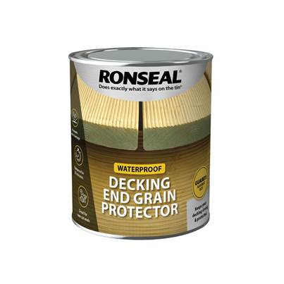 Ronseal Decking End Grain Preserve Green 750ml