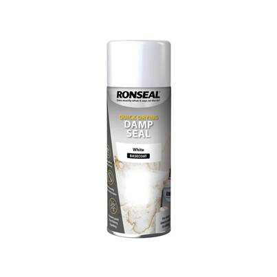 Ronseal Quick Dry Damp Seal Aerosol White 400ml