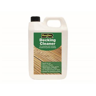 Rustins Decking Cleaner 4 Litre
