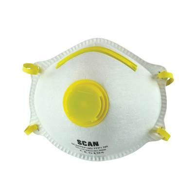 Scan Moulded Disposable MaskS Valved FFP1 Protection