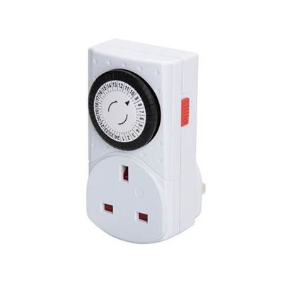 SMJ MCT1PC-SH 24 Hour Compact Mechanical Timer