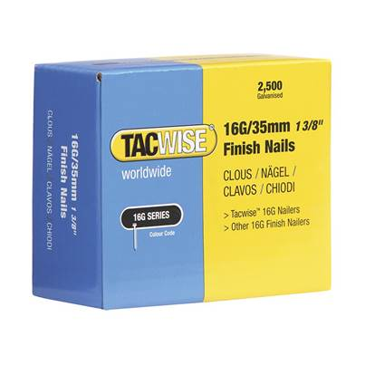 Tacwise 16 Gauge Series Finish Nails