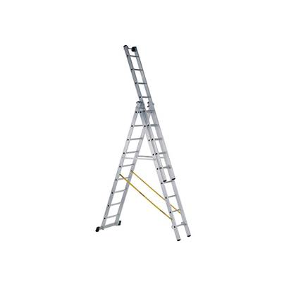 Zarges Skymaster 3-Part Industrial Ladders