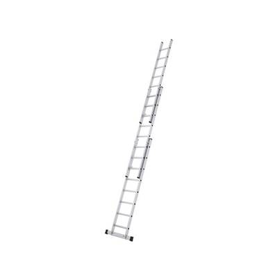 Zarges Triple Extension Ladder with Stabiliser Bar 3-Part D-Rung