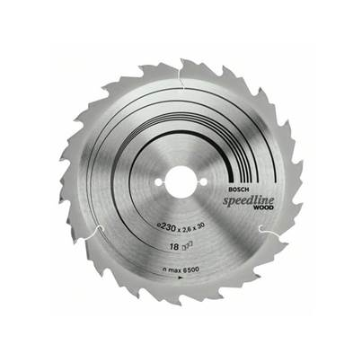 Bosch Circular saw blade Speedline Wood 235 x 2.6 x 30/25mm 30T