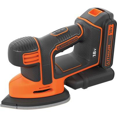 Black & Decker BDCDS18 18v Cordless Mouse Sander