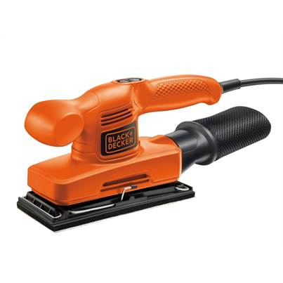Black & Decker KA310 1/3 Sheet Orbital Sander 240 Watt 240 Volt