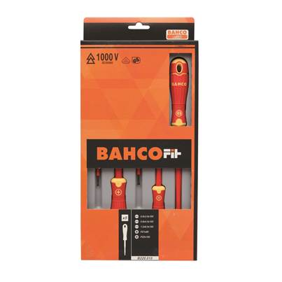 Bahco BahcoFit 5 pcs Insulated Screwdriver Set