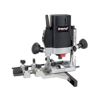 Trend T5EB 1/4in Variable Speed Router 1000 Watt
