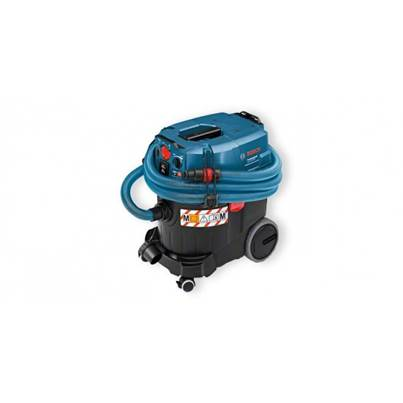 Bosch GAS35MAFC 110v Professional M-Class Wet/Dry Extractor with Automatic Filter Cleaning & L-Boxx fitting