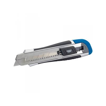 Draper 02893 Expert 25mm Soft Grip Retractable Knife with Six Segment Blade