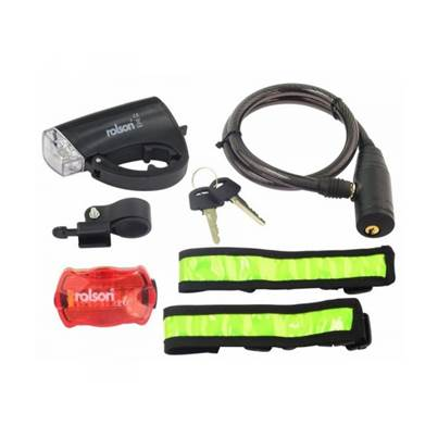 Rolson 5pc Bike Accessory Kit