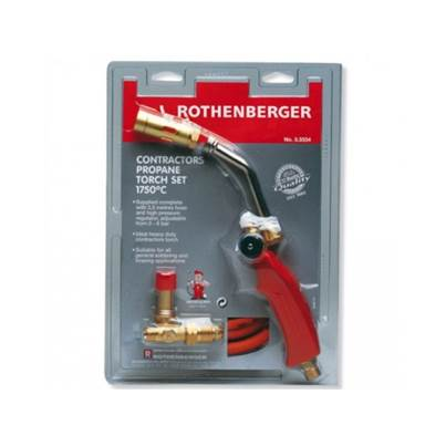 Rothenberger Heavy Duty Contractors Propane Blow Torch Set 1750c
