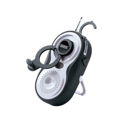 02380 Wind up Waterproof Radio - AM/FM