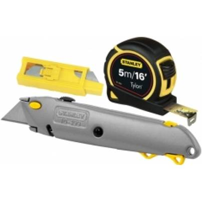 Stanley Tape,Knife & Blade Kit