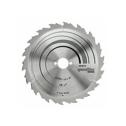 Bosch Standard Wood TCT Saw Blade 165 x 12 x 20mm