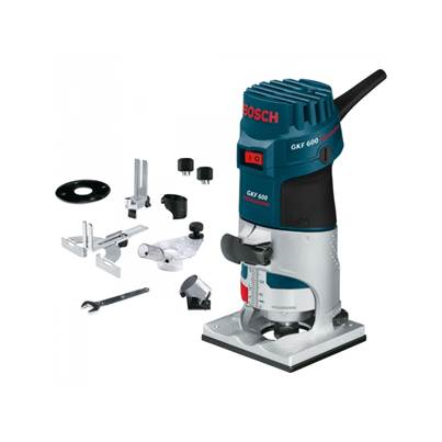 Bosch GKF600 Palm Router/Laminate Trimmer Kit