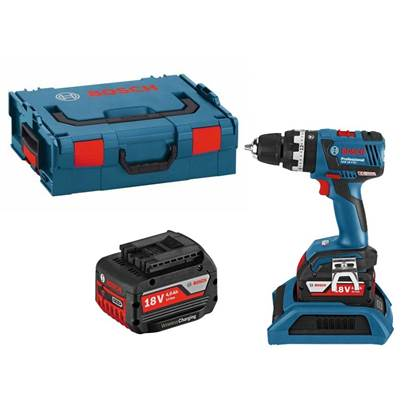 Bosch GSB18V-ECW 18v Brushless Combi Drill with Wireless Charging 2 x 4.0Ah Li-ion Batteries