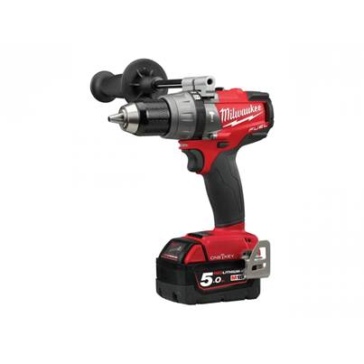 Milwaukee M18ONEPD-502X 18v 2x5.0Ah Li-ion One Key Percussion Drill Kit