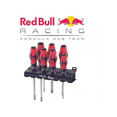 Wera 334/350/355/7 Red Bull Racing screwdriver set