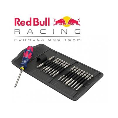 Wera Kraftform Kompakt 60 Red Bull Racing, Stainless
