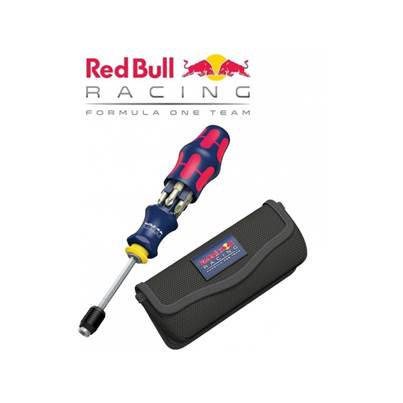 Wera Kraftform Kompakt 20 Red Bull Racing With Pouch And Stainless Bits