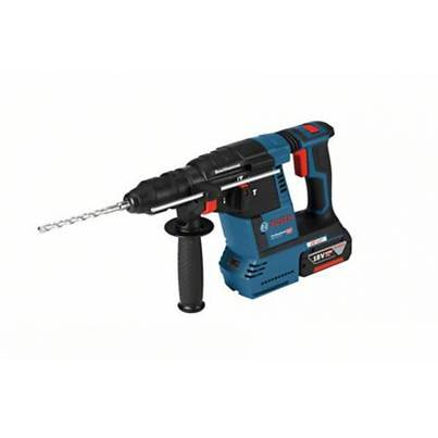 Bosch GBH18V-26 F 18V Cordless Hammer Drill With 2 x 6ah Batteries and Q/C Chuck